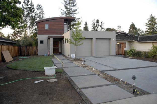 Modernist garden design