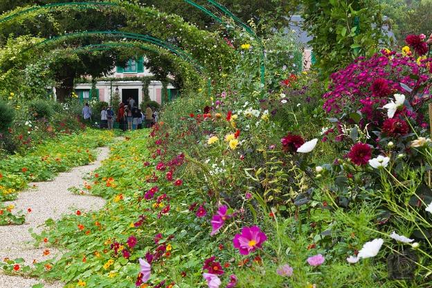monet's gardens.