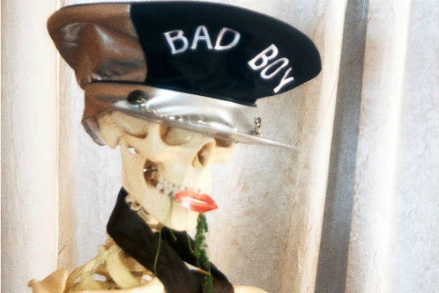 "A really old ""bad boy."""