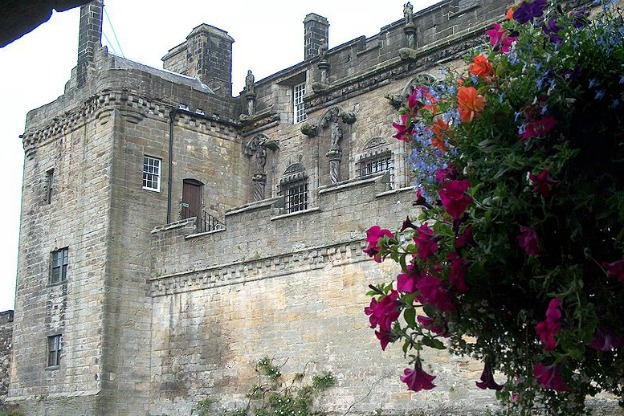Stirling Castle: the home of the Chapel Royal where William Byrd shared the position of organist with Thomas Tallis. This castle was built in 1594
