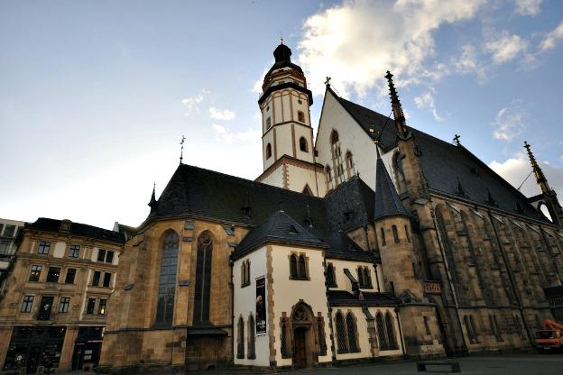 The exterior of Thomaskirche