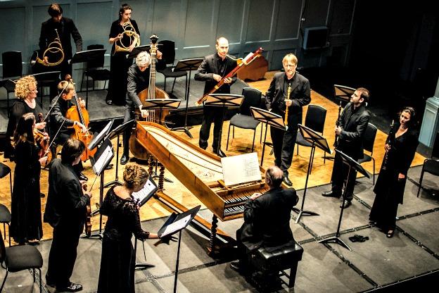 The Dunedin Consort in concert.