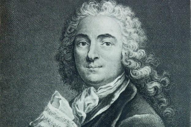 Portrait of Jean-Marie Leclair by Gravure de F. Lugi d'après Loir, 1741