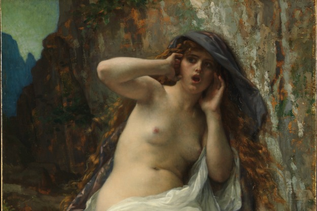 A painting of the nymph Echo by Alexandre Cabanel, 1874.