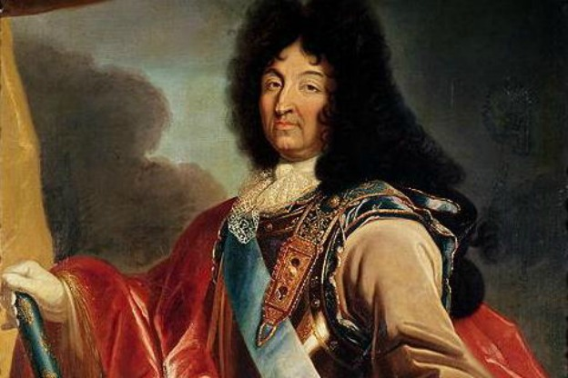 Portrait of Louis XIV of France by Pierre Mignard (1612-1695).