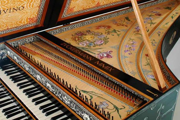 Flemish Double-Manual Harpsichord