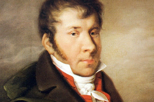 J. N. Hummel by Möller, ca. 1814.