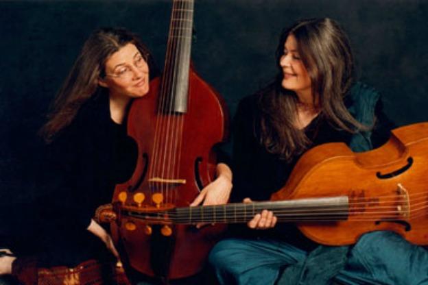 Susie Napper and Margaret Little, violas da gamba.