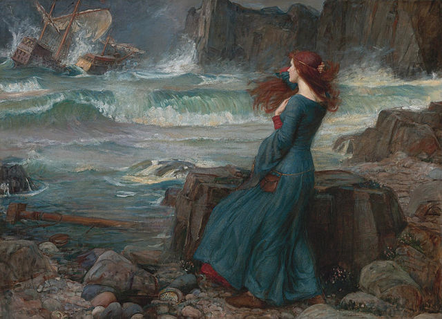 """Miranda - The Tempest"" by John William Waterhouse."