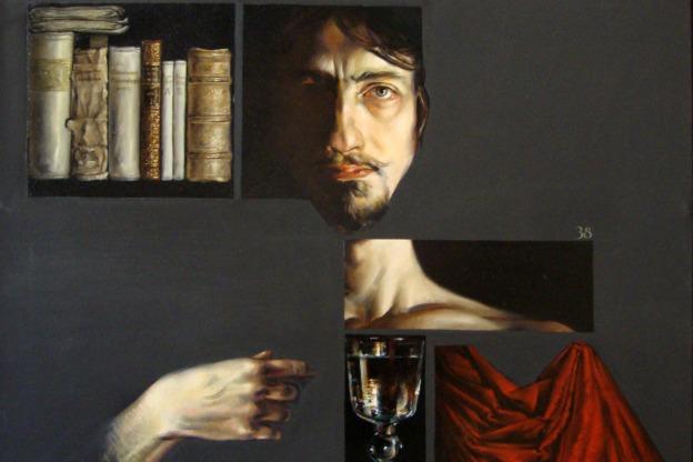 Federico M. Sardelli, Selfportrait, 2001.