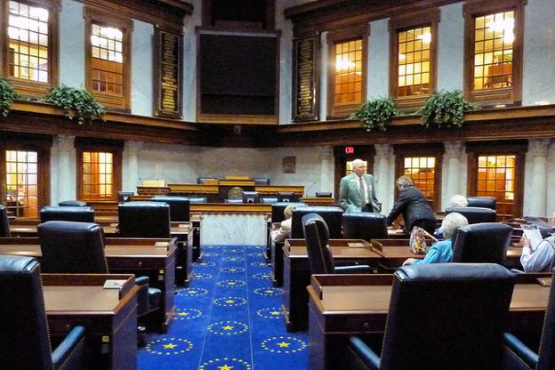 Indian Senate Floor