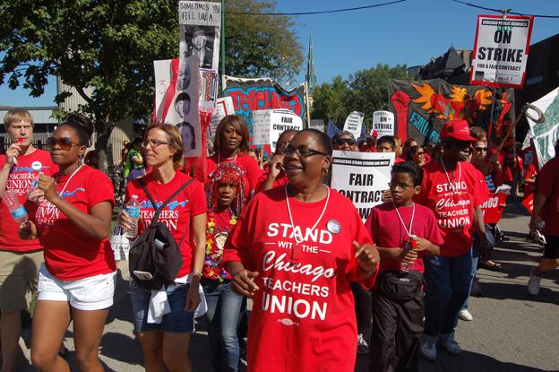 chicago union strike