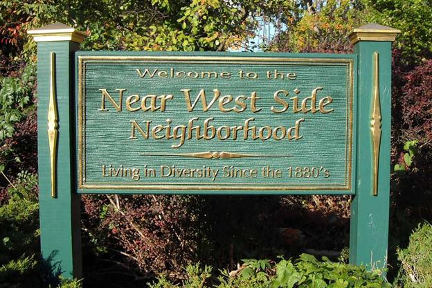 westside neighborhood sign