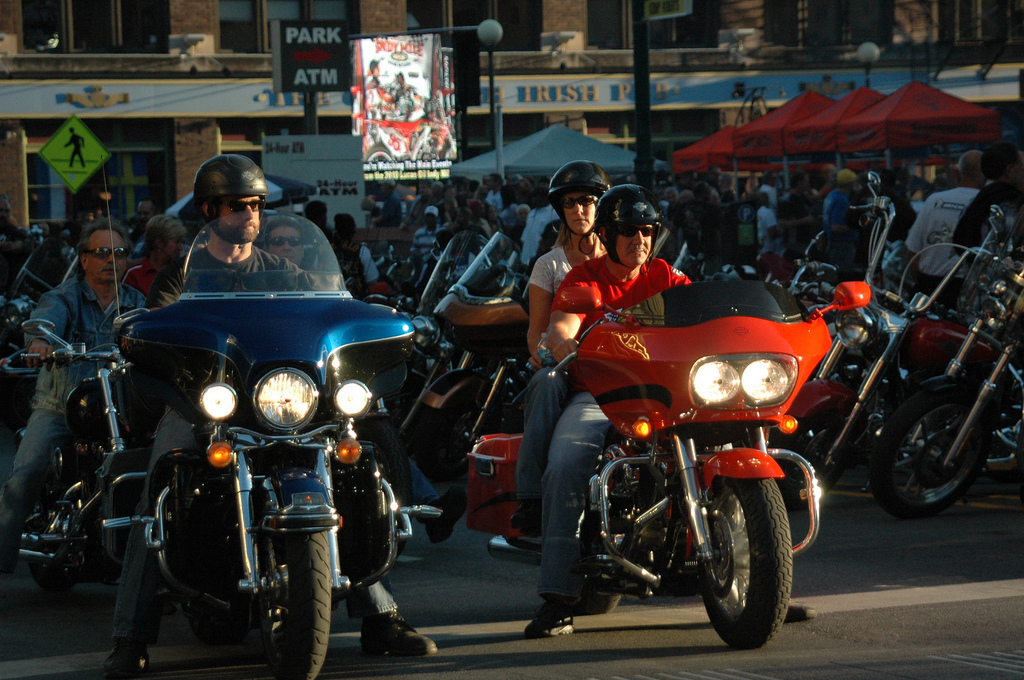 motorcycle riders