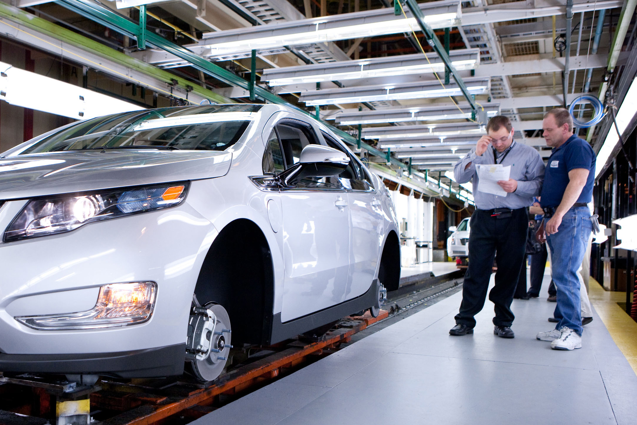Chevy Volt on The Assembly Line