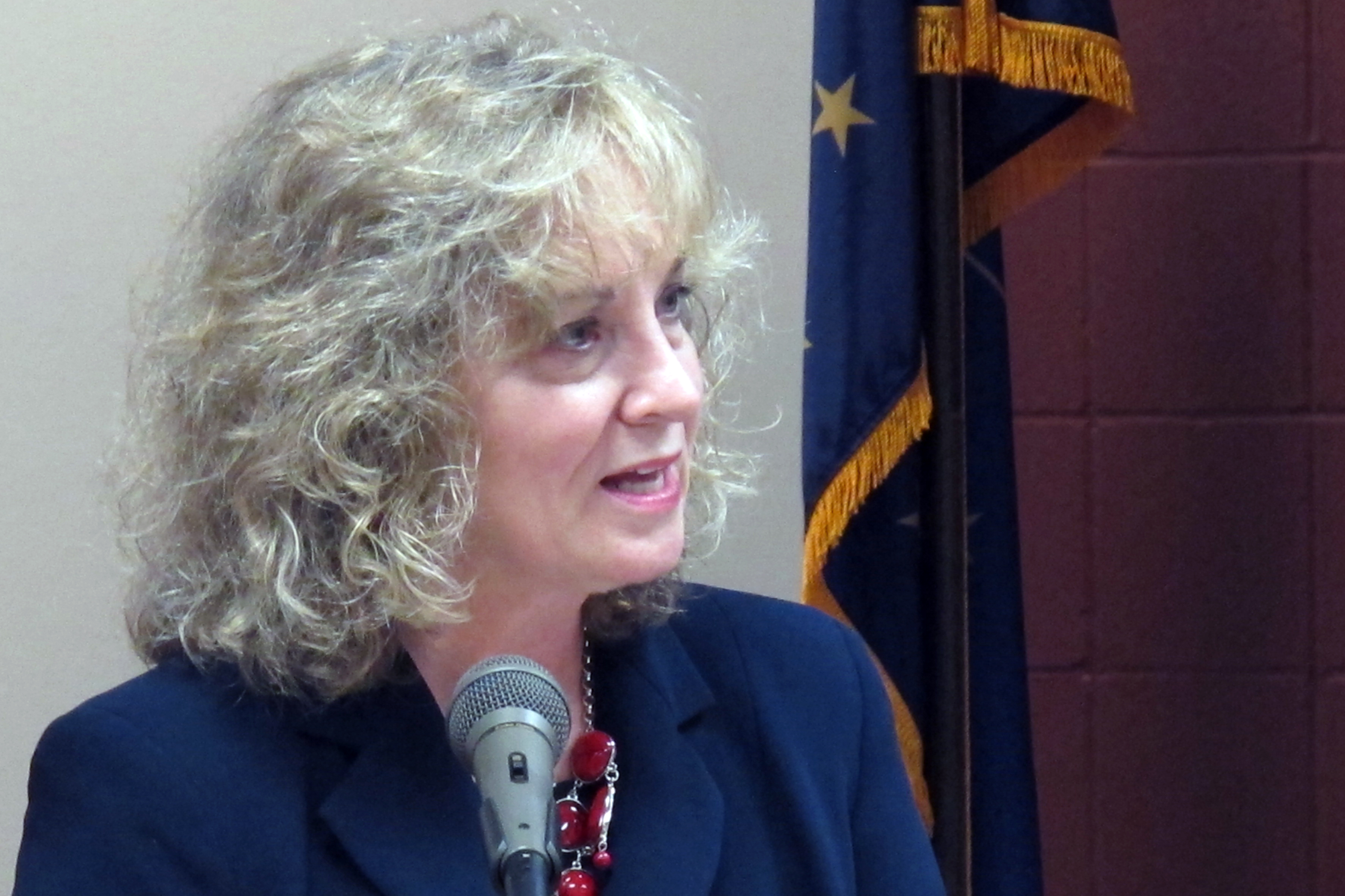 Superintendent Glenda Ritz says Governor Mike Pence's new education agency is to blame for an ongoing dispute between her department and the State Board of Education.