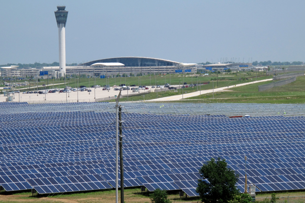 All snow, no energy at the Indy Airport Solar Farm