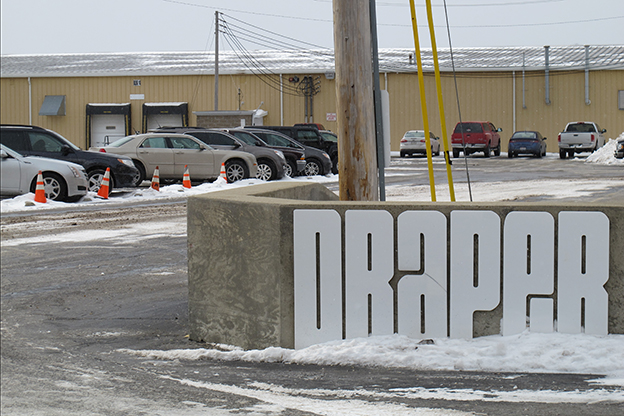 Draper, Inc., in Spiceland is the largest private employer in Henry County, manufacturing various equipment for schools.