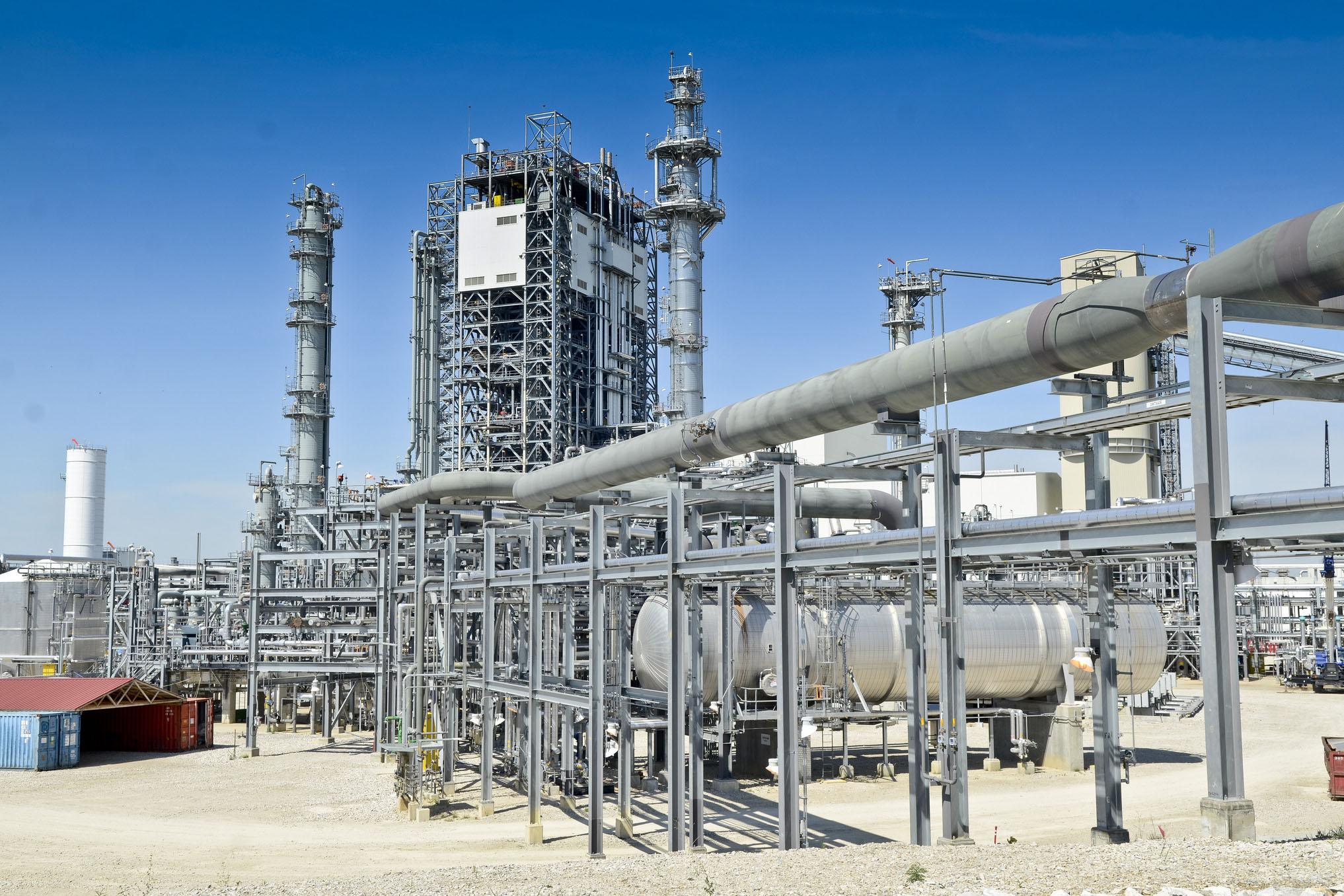 the Duke Energy coal gasification plant in Edwardsport