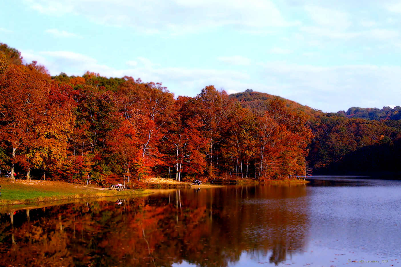 Brown County State Park in the fall