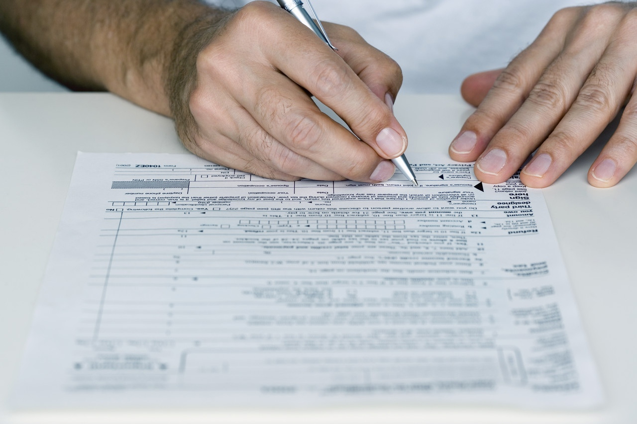 State tax revenues are down for the third consecutive month.