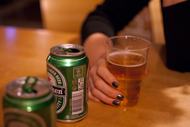 Some Indianapolis residents can get alcohol delivered right to their doors by a few taps of their fingers and a five dollar delivery fee.
