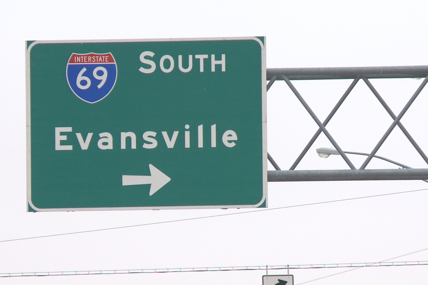 69 South sign