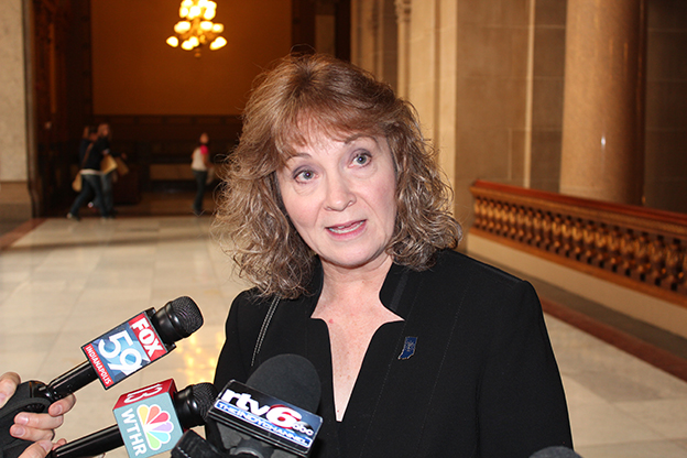 State Superintendent Glenda Ritz appeared before the State Budget Committee Thursday to present her department's request for 2015.
