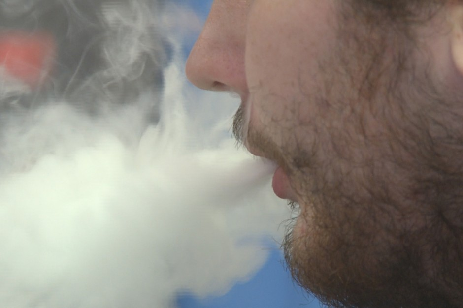 A study in the New England Journal of Medicine raises new question about the safety of E-cigarettes.