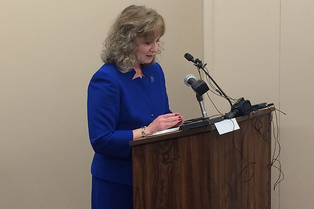 A bill in the House would make the chair of the State Board of Education an appointed position rather than an elected one. Current state superintendent Glenda Ritz testified before House Education Committee Thursday against the bill. (Photo Credit: Bill Shaw/WTIU)