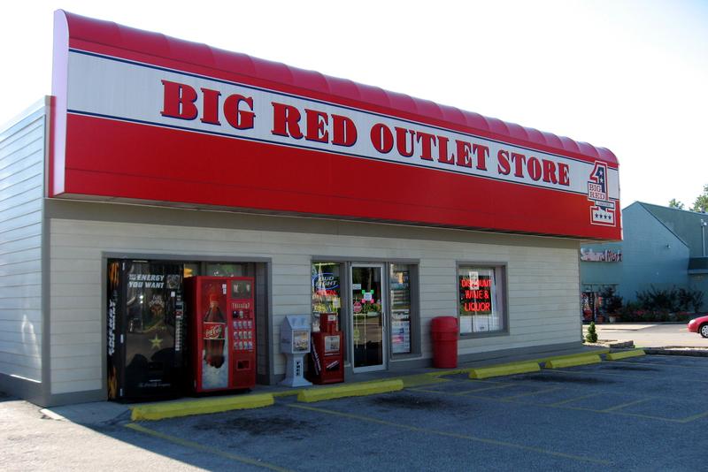 Big Red liqours