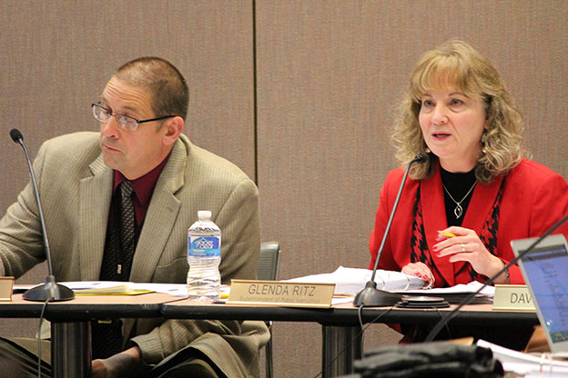State Superintendent Glenda Ritz currently serves as chair of the State Board of Education. (Photo Credit: Rachel Morello/StateImpact Indiana)