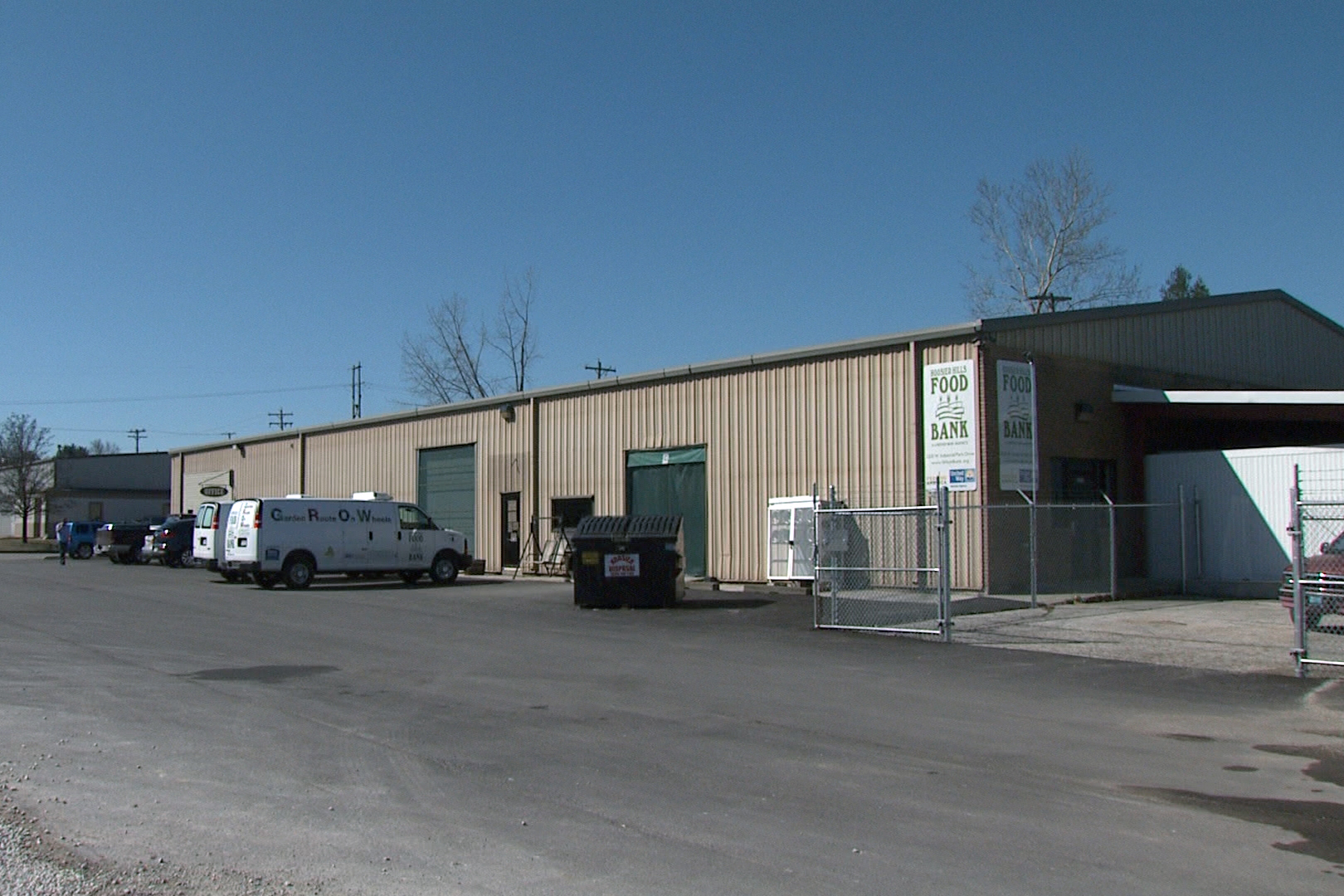 Hoosier Hills Food Bank, in its 33rd year of service, keeps battling hunger that a million of Hoosiers face.