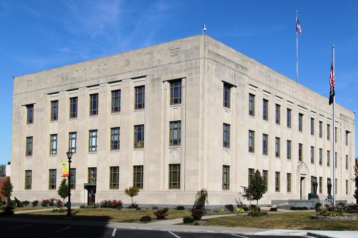 Howard County Courthouse (WFIU/WTIU News)