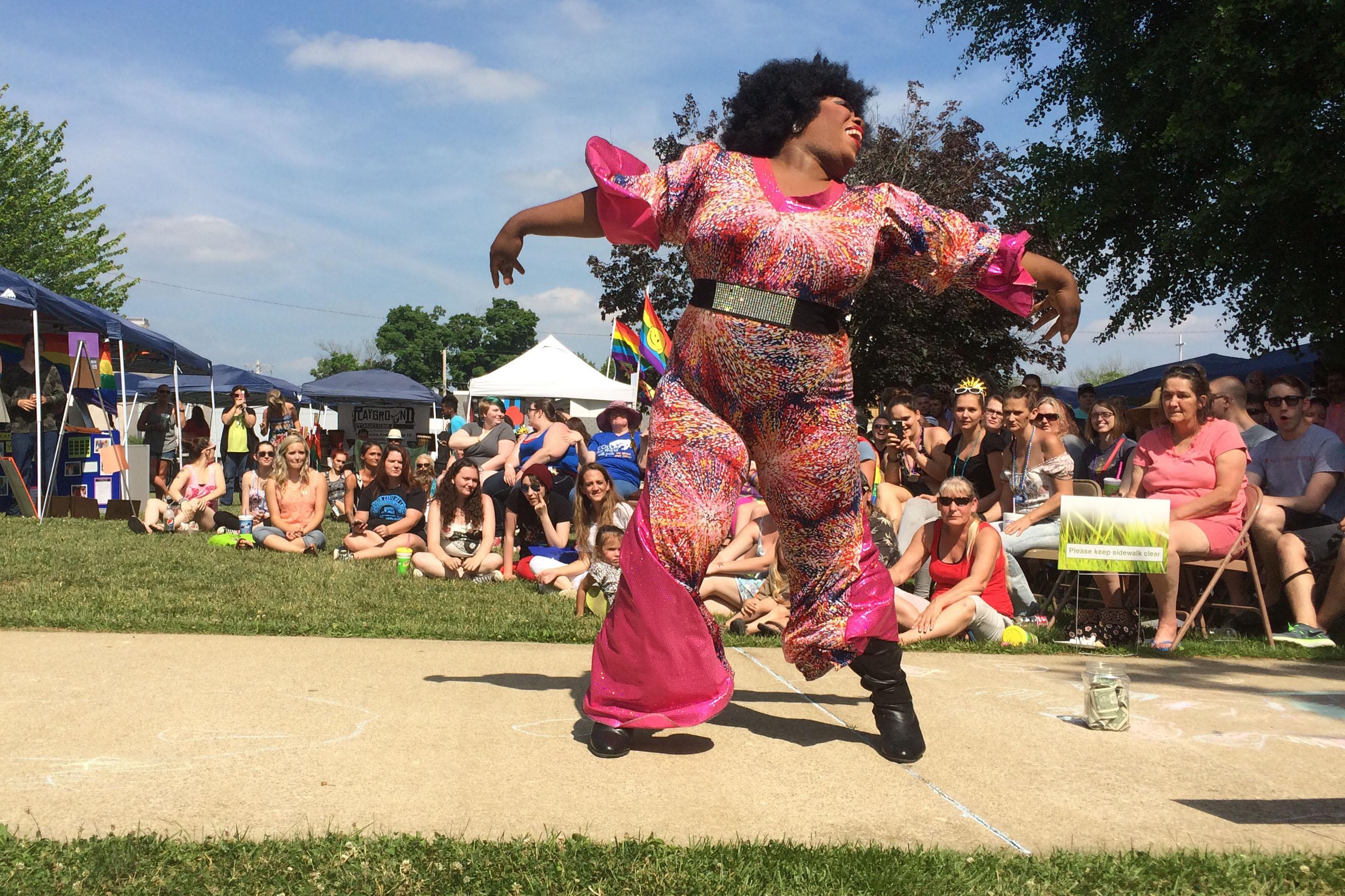 Spencer Pride includes a drag show and drag queen story time (WFIU/WTIU News).