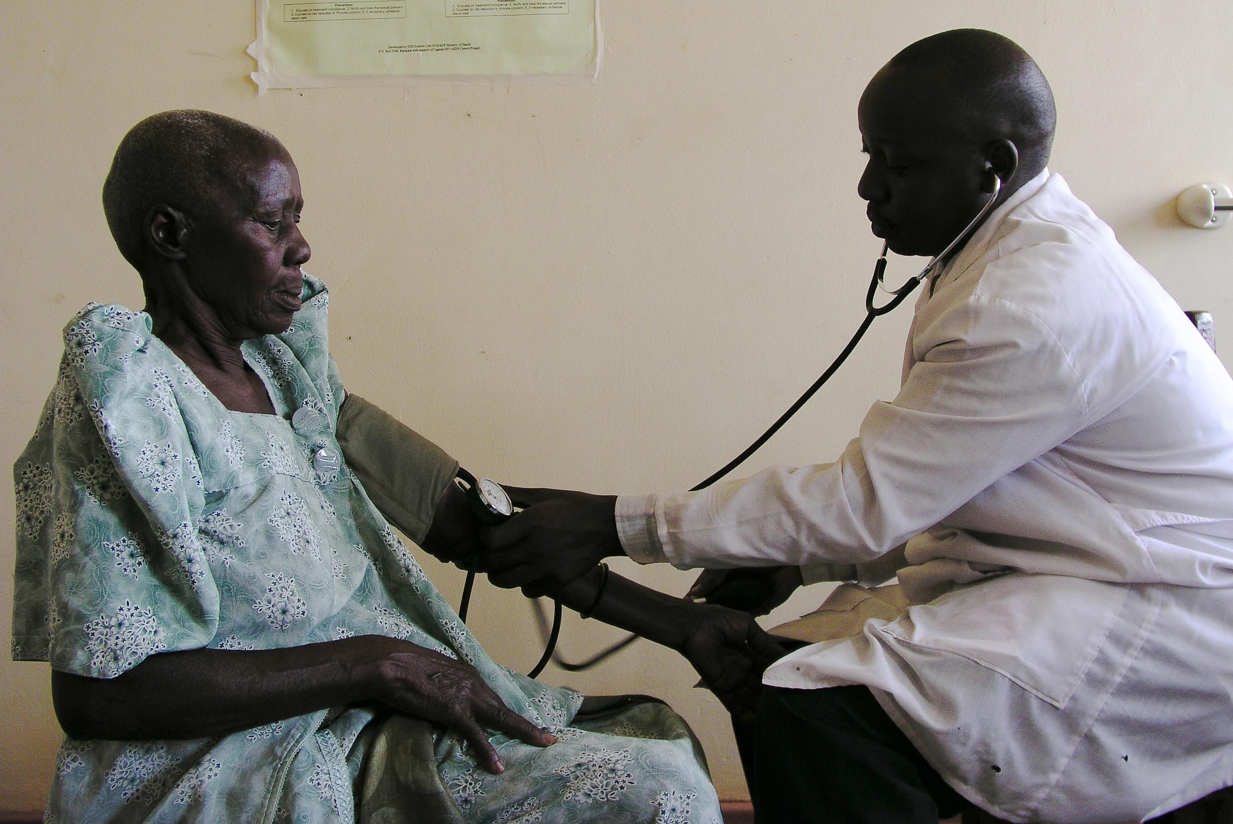 doctor in Uganda