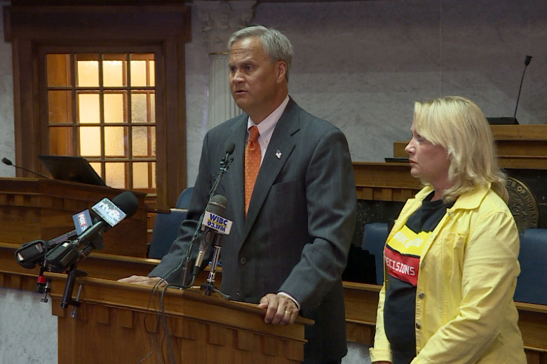Jim Merritt and Dawn Finbloom