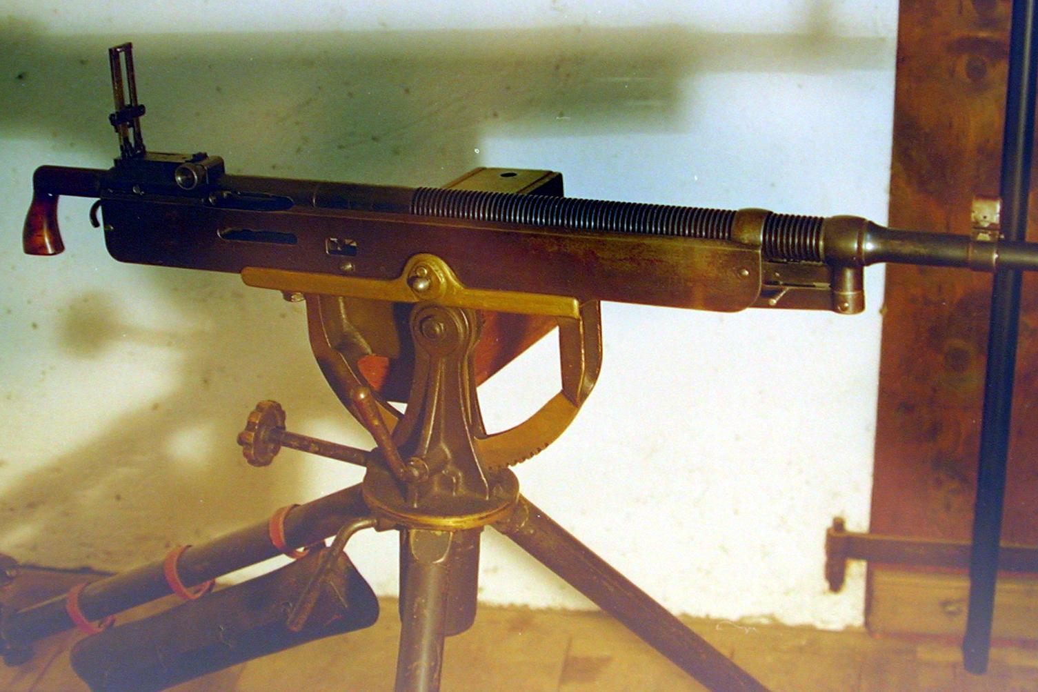 A historic WW1-era machine gun was stolen from its public display case in northern Indiana.