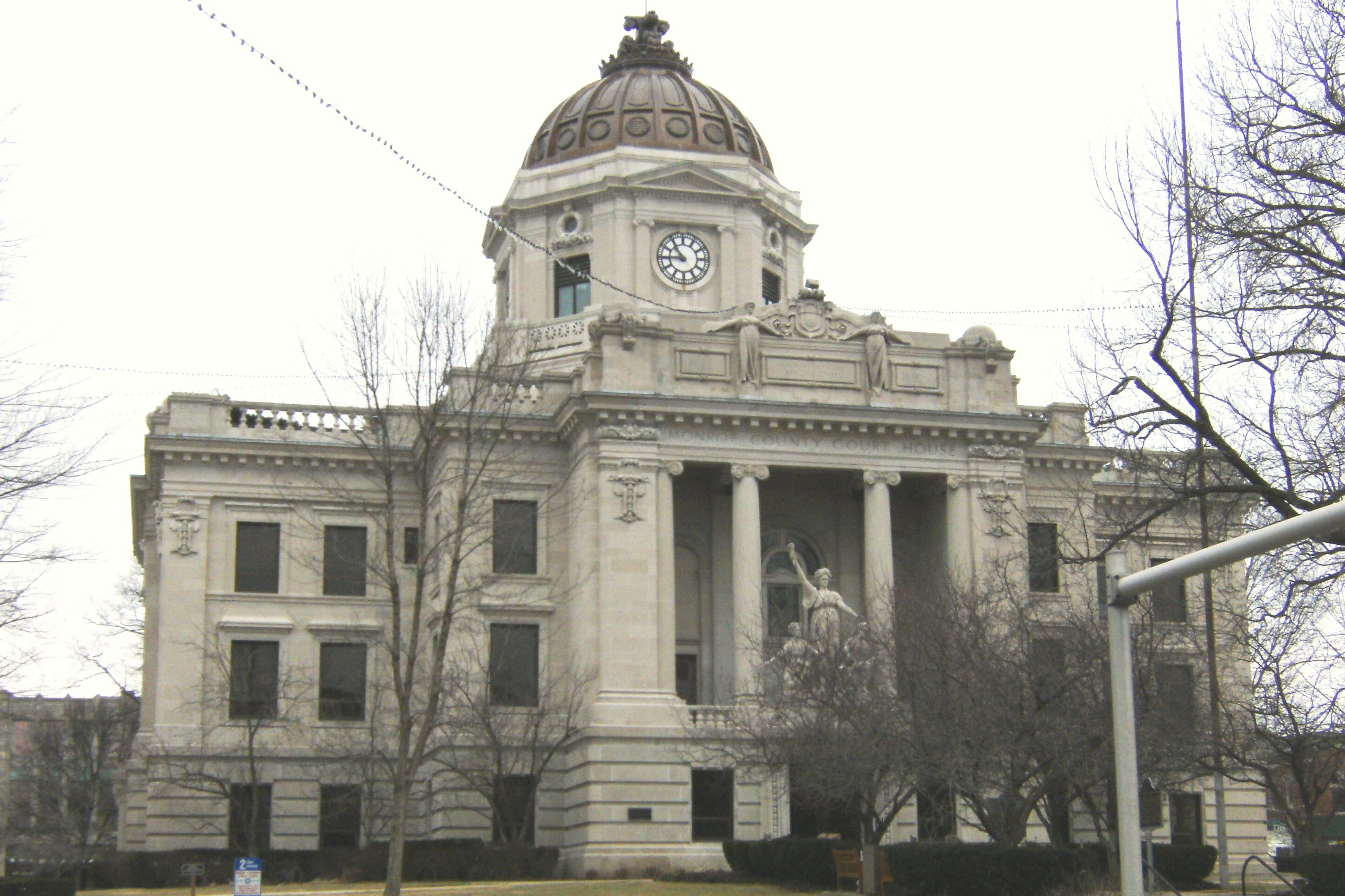 The Bloomington City Council read for the first time Wednesday a proposed ordinance that would establish a historic district downtown.
