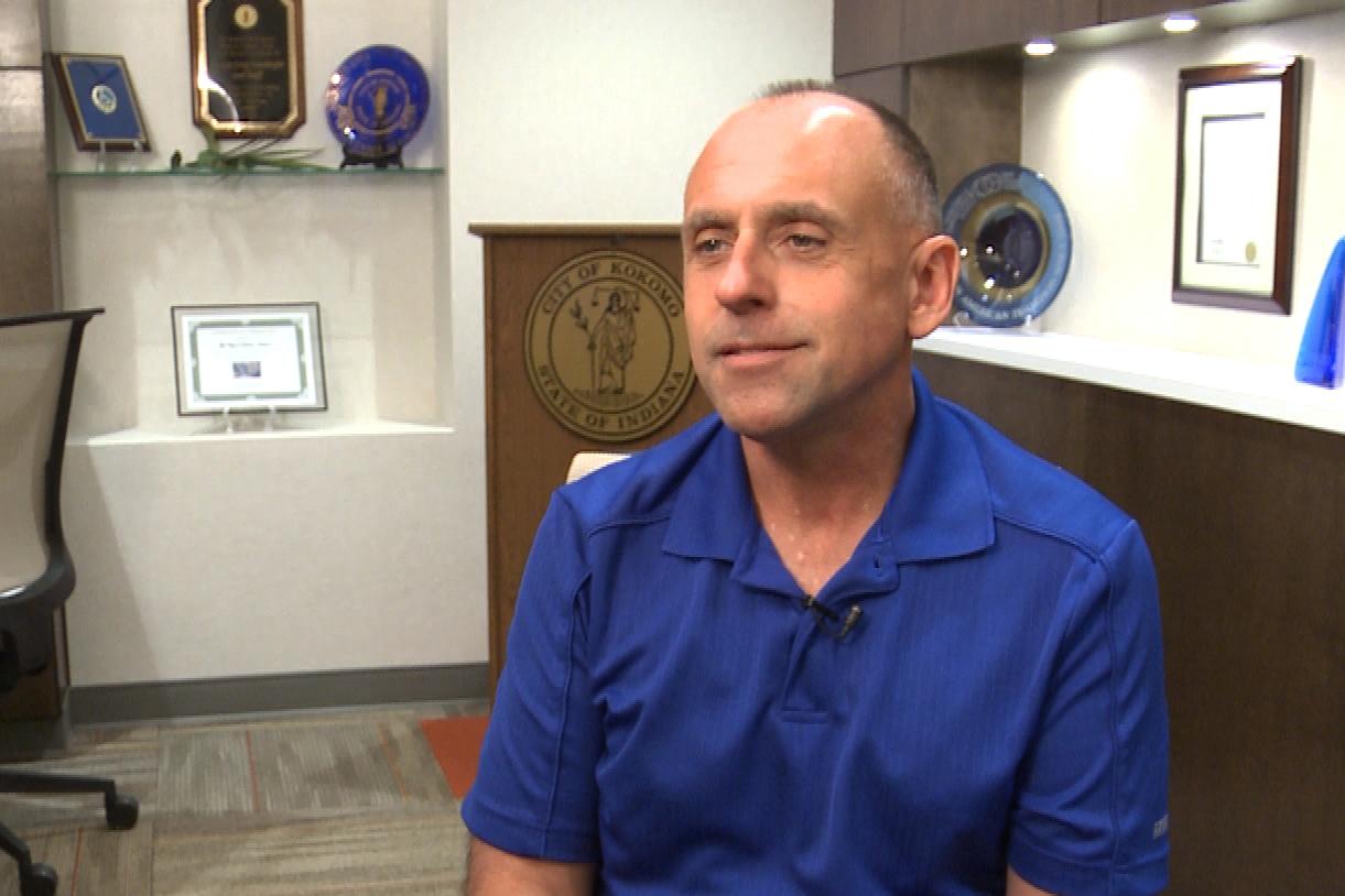 Mayor Greg Goodnight, D-Kokomo.