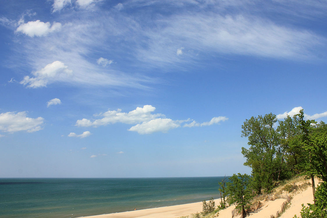 The spill from U.S. Steel closed beaches for a week along the Indiana Dunes National Lakeshore.
