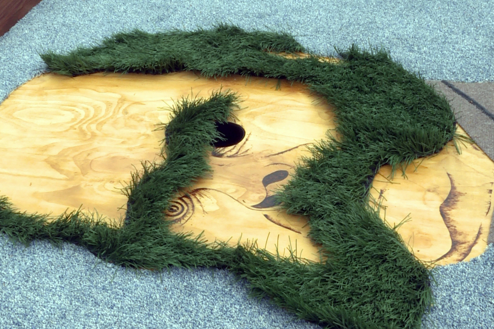 The course was built to be challenging and artistic.