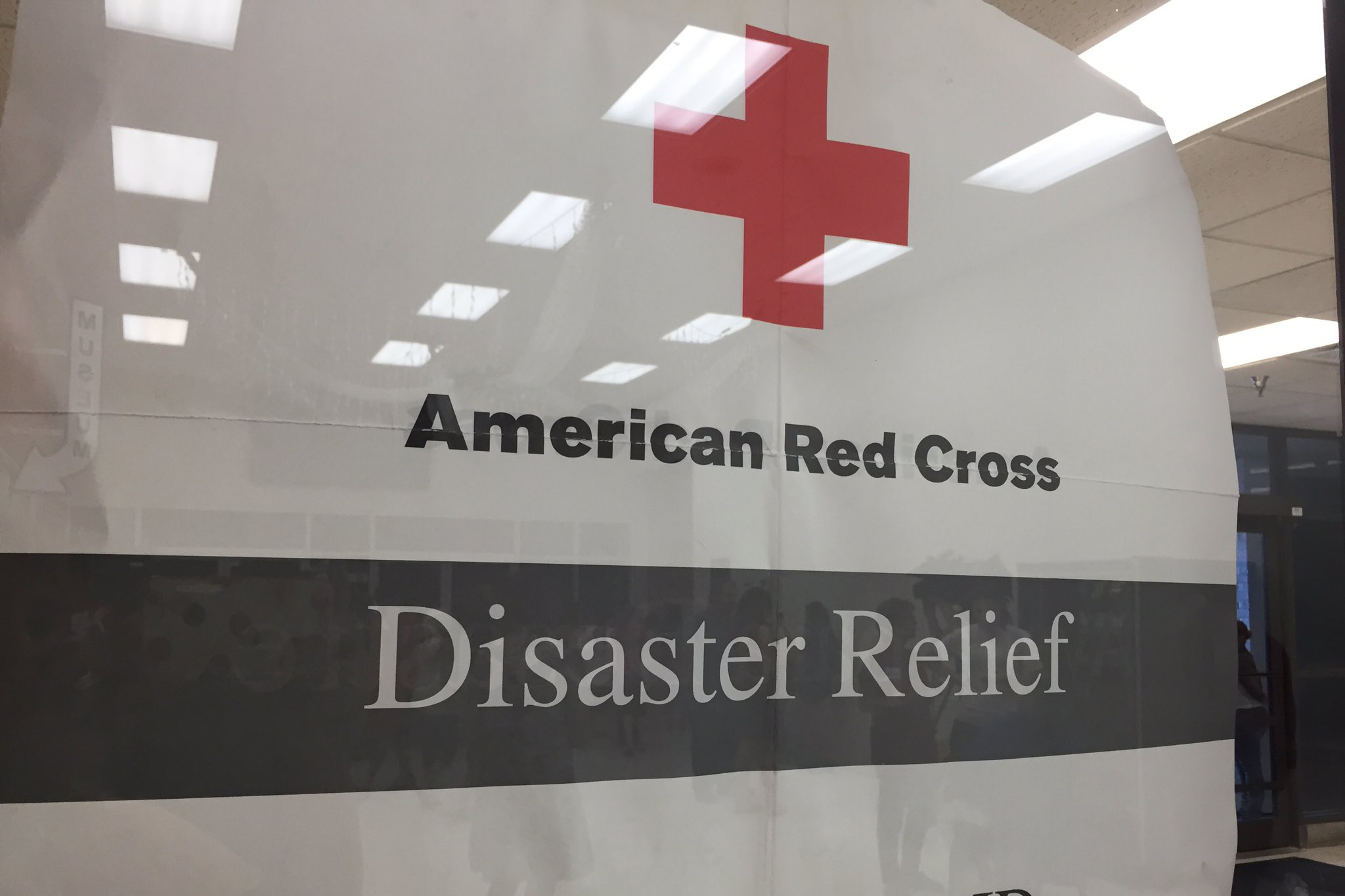The American Red Cross setup a shelter at the Kokomo Event and Conference Center for those displaced.