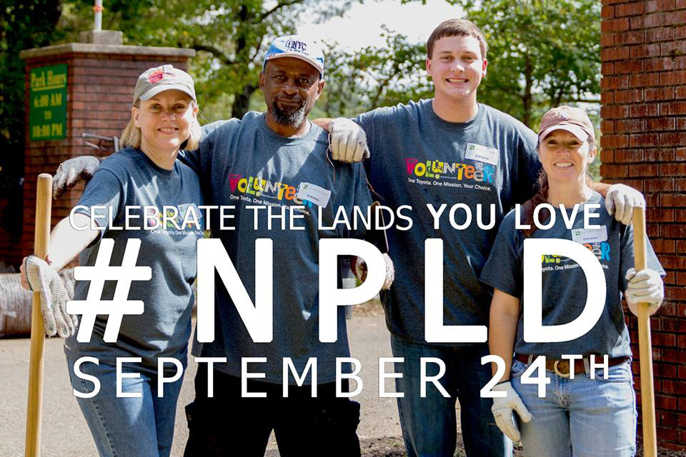 National Public Lands day is the largest single-day volunteering event for public lands.