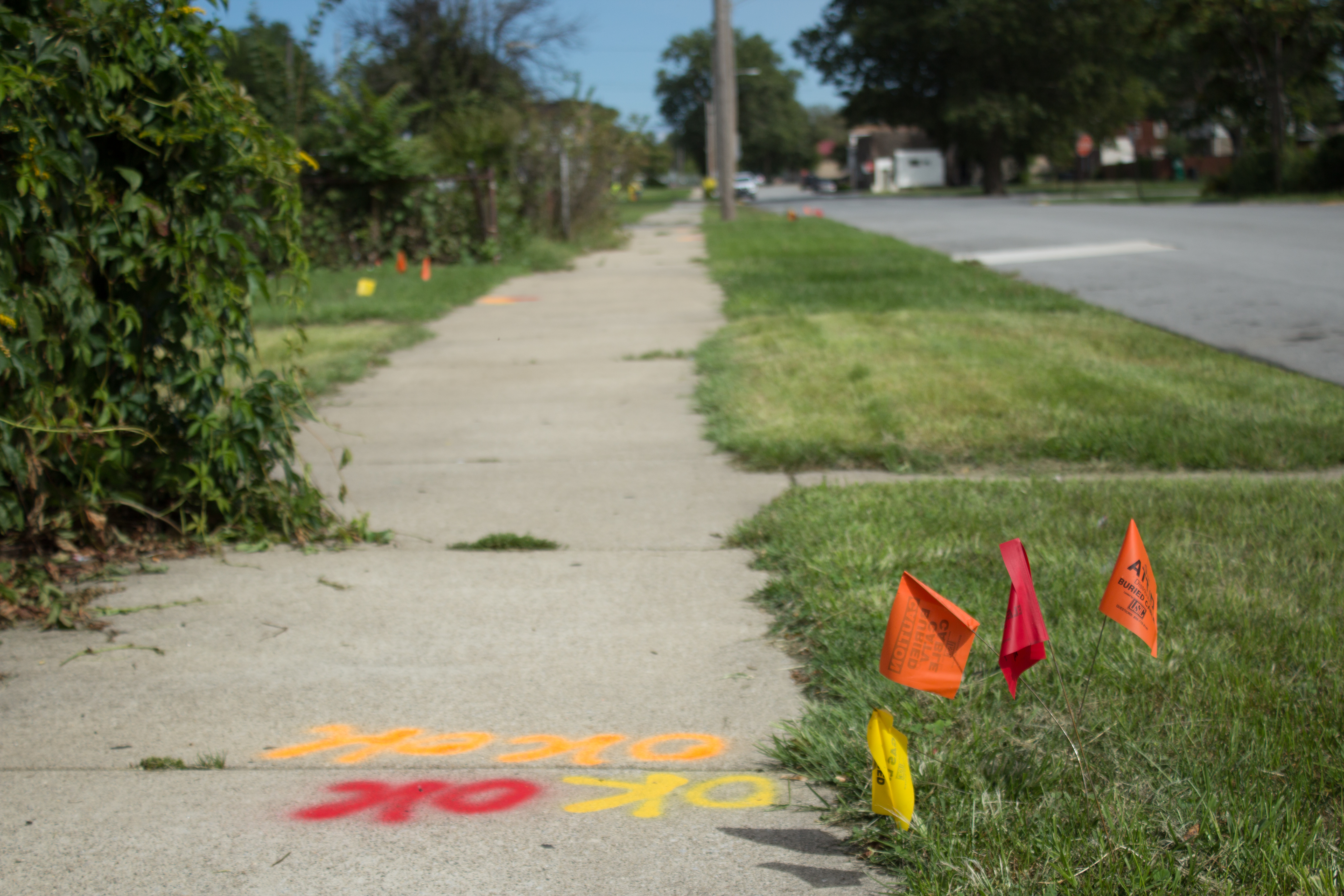 EPA flags in East Chicago