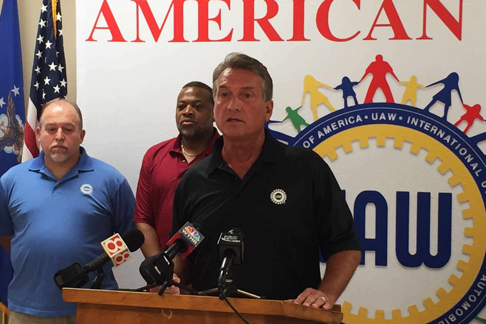 UAW training representative Jim Bewley criticized Republican Todd Young for not supporting the auto industry bailout.