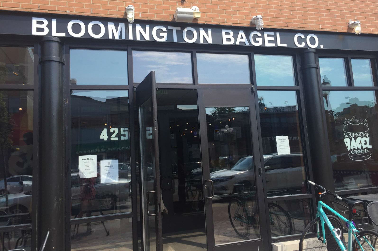 Bloomington Bagel Company will occupy its site on Kirkwood Avenue for about a year until the development is completed.