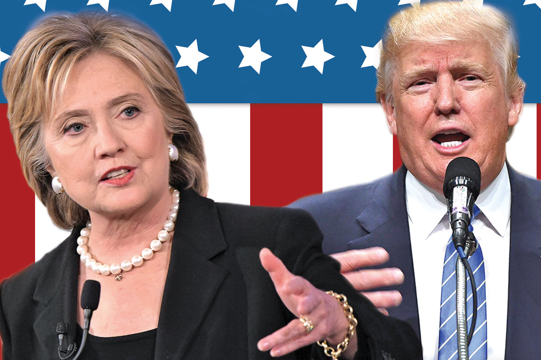 Hillary Clinton and Donald Trump meet for the first Presidential debate on Monday, September 26 at 9:00 p.m.