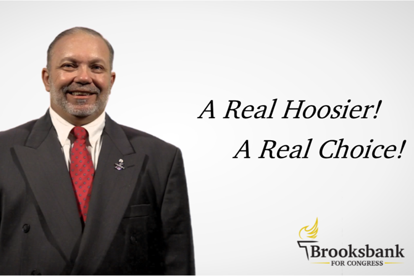 Russell Brooksbank is the Libertarian candidate to represent Indiana's 9th Congressional District.