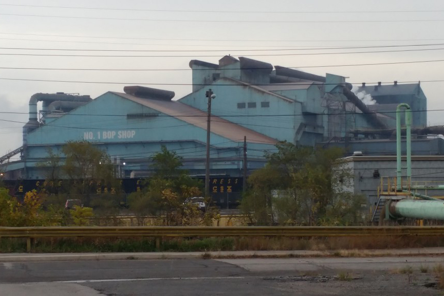 U.S. Steel's Gary Works mill is the largest of its kind on the continent.